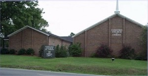Concord church of Christ building