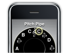 iphone pitchpipe iPhone & Android Pitch Pipe Apps